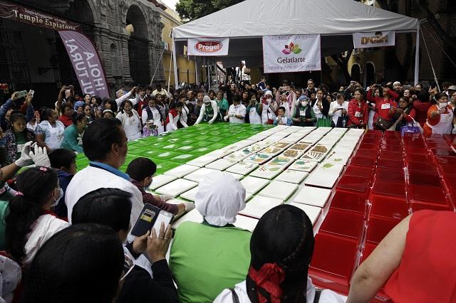 Alistan el centro de Puebla para ceremonia del Grito