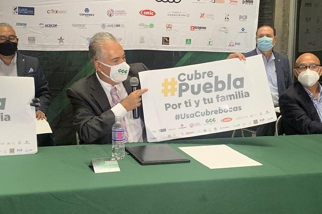 Dona CCE Puebla 2 millones de cubrebocas y 25 mil litros de gel