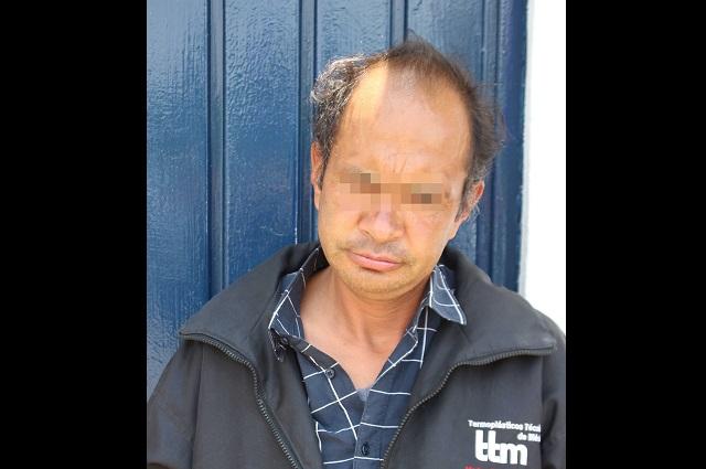 Ladrón capturado 14 veces, en libertad condicional en Puebla