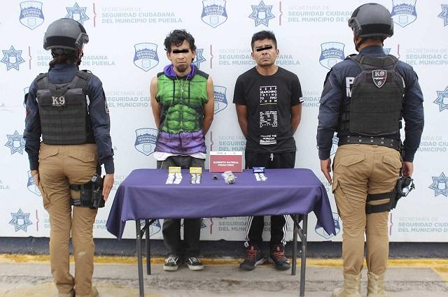 Caen dos narcomenudistas en Santa Cruz Buenavista