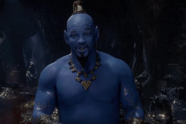 Así se verá Will Smith como el Genio de Aladdin