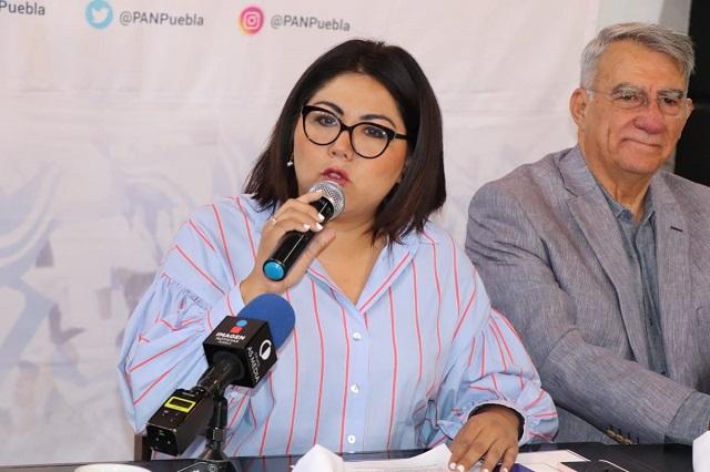 Exige PAN a Karina Pérez frenar violencia en San Andrés Cholula