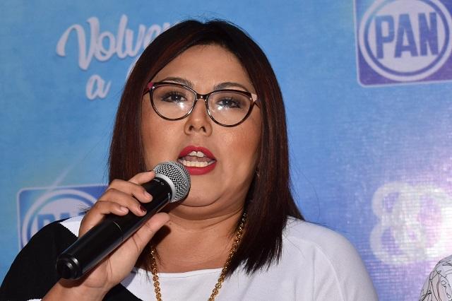 Desconfía Genoveva Huerta sobre triunfo electoral en San Andrés Cholula