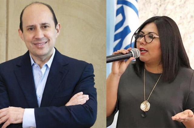 Genoveva Huerta y Manzanilla se llaman mezquinos en Twitter