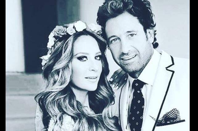 Comparte Geraldine Bazán fotos y videos de su boda con Gabriel Soto