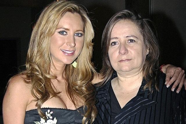 Aseguran que Geraldine Bazán está distanciada de su mamá