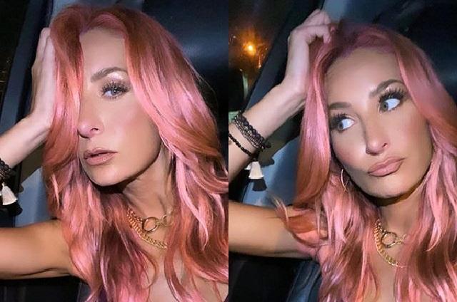 Geraldine Bazán hace radical cambio de look y luce cabellera rosa