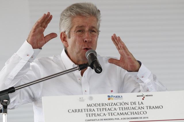 Fallece Gerardo Ruiz Esparza, titular de la SCT con Peña Nieto