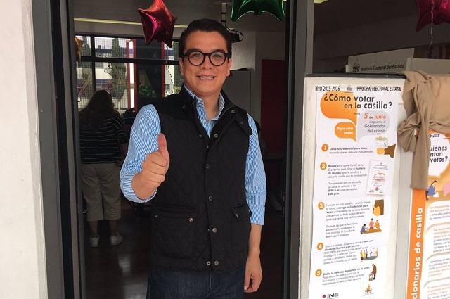 Destaca Gerardo Islas paz y orden del proceso electoral