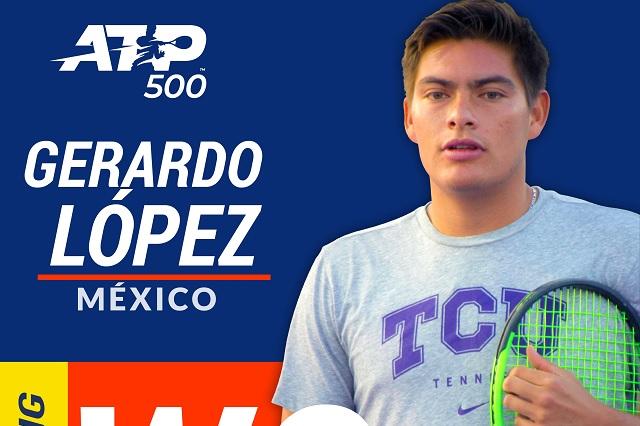 Gerardo Villaseñor inicia este lunes su aventura en el Abierto Mexicano de Tenis