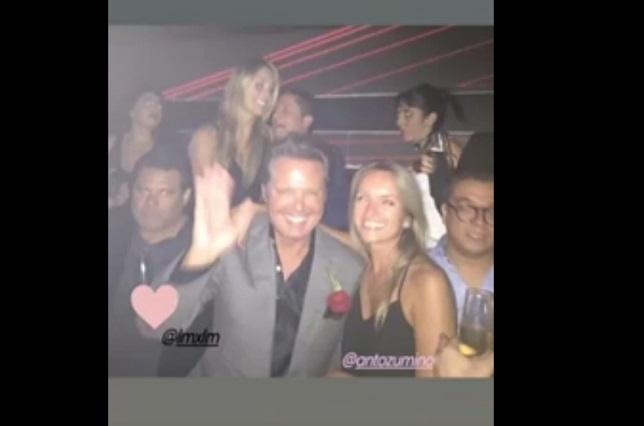 ¿Gerardo Islas estuvo en fiesta del hermano de Luis Miguel?