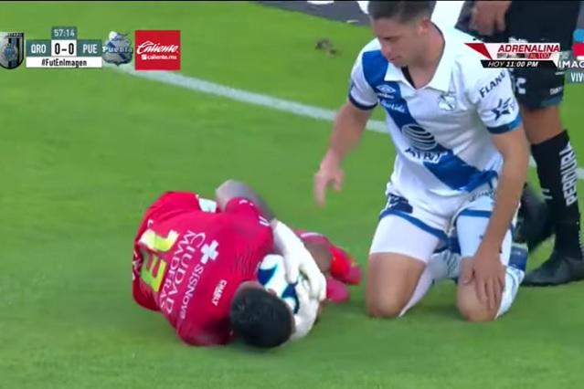 Choque con Ormeño le cuesta a Gil Alcalá una fractura de costilla