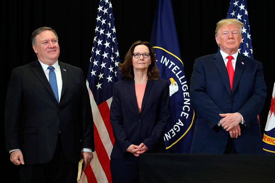 Gina Haspel asume la dirección de la CIA