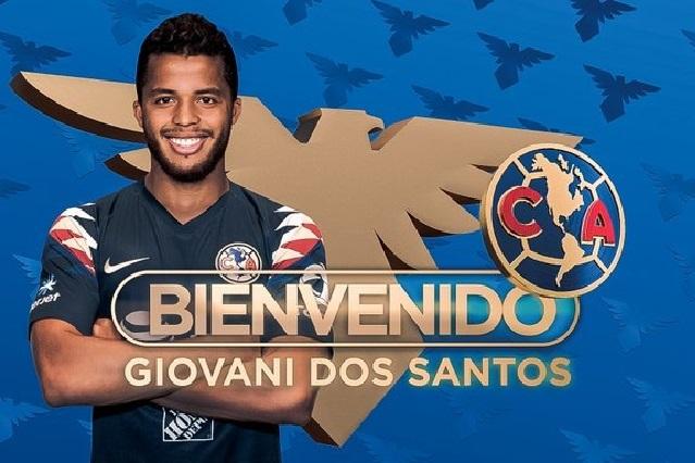 Giovani dos Santos ya es jugador del América y tendrá el 10