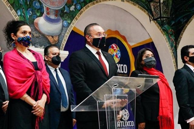 Atlixco conmemora la independencia de México con saldo blanco