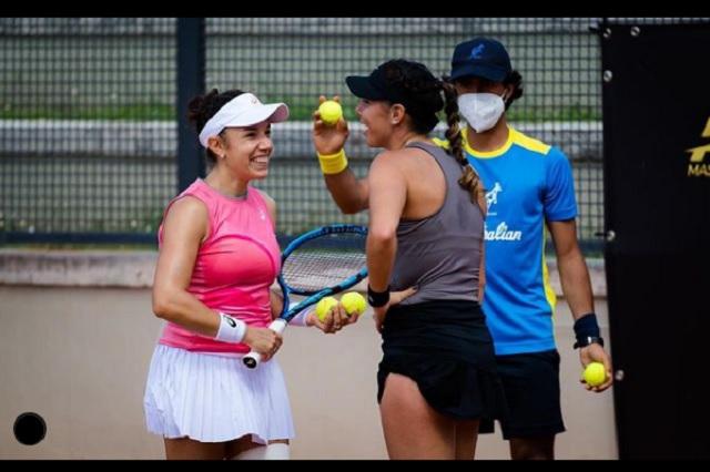 Giuliana Olmos avanza a 4tos de final en el Masters de Roma