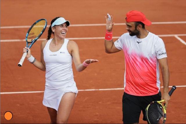 ¡Giuliana Olmos a semifinales! Avanza en dobles mixtos del Roland Garros