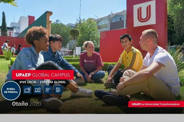Presenta Upaep plan internacional de redes de trabajo académico
