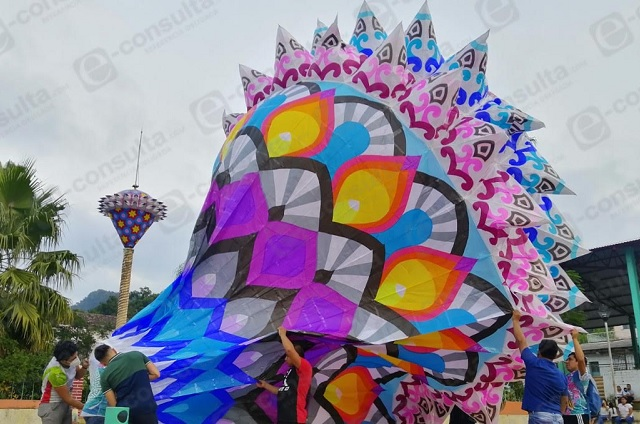 Cumple 50 años festival de Globos en Tuzamapan de Galeana