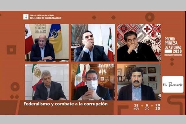 Diálogo abierto de gobernadores y federación, plantea Barbosa