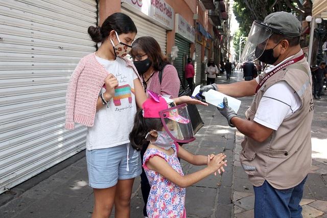 Se contagian de Covid 762 menores en Puebla