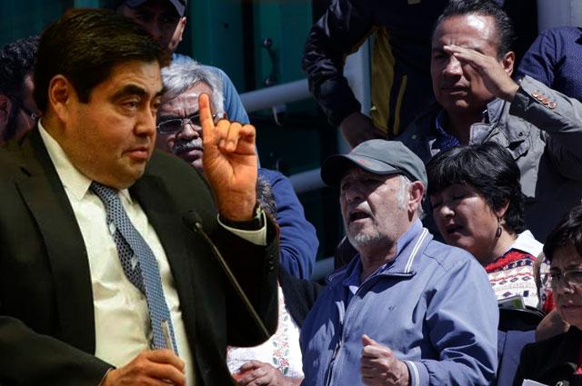 No más amenazas ni chantajes de Antorcha, sentencia Barbosa