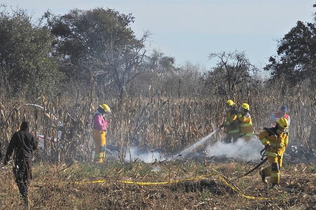 Descarta Gobierno Federal presencia de explosivos en helicóptero accidentado en Puebla