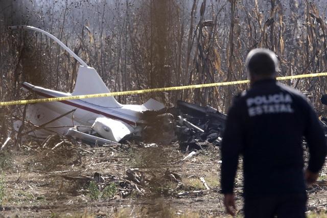 Indagarán expertos de EU, Italia y Canadá tragedia aérea en Puebla