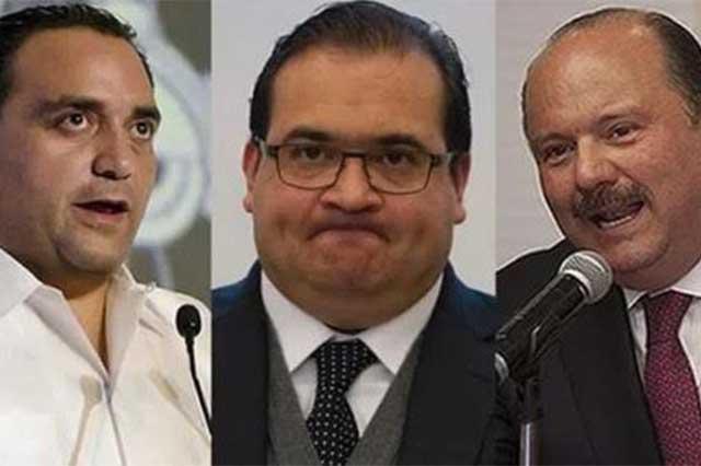 Colocan en una lista a 9 ex gobernadores que podrían ser encarcelados