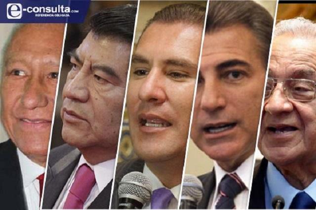 Gobernadores de Puebla se van sin aclarar gasto de 18 mil mdp