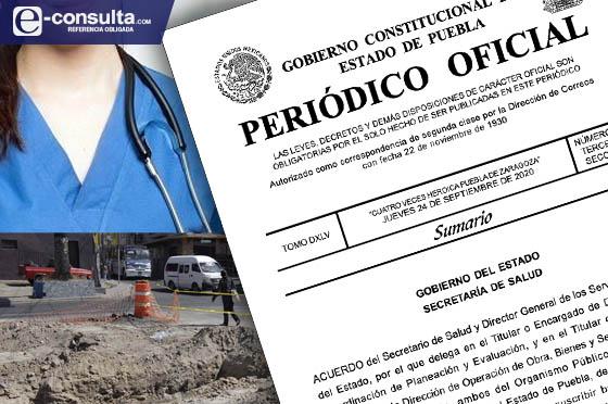 Facultan a subordinados para dar contratos y escrituras en Puebla