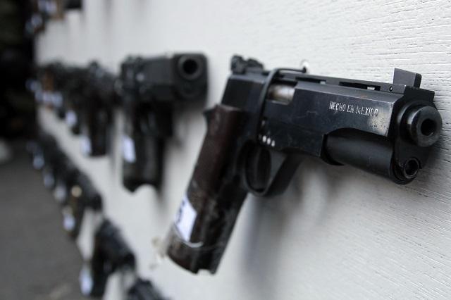 Elevarán 50% penas por asaltos con armas falsas en Puebla