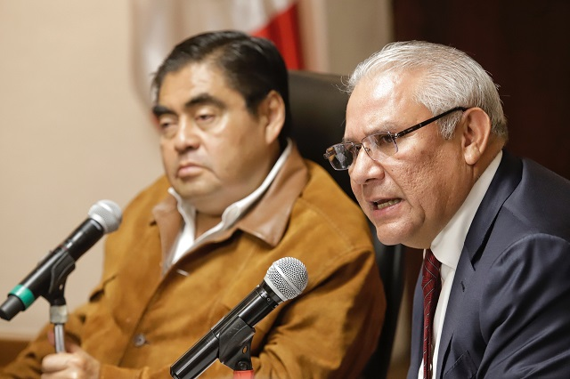Trabaja gobierno en desmantelar grupos delictivos, señala  Barbosa