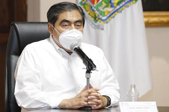 Trabaja gobierno por la salud y economía de Puebla: Barbosa