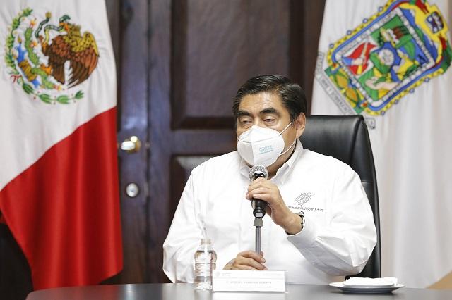 Dice Barbosa que sus iniciativas van contra la corrupción en Puebla