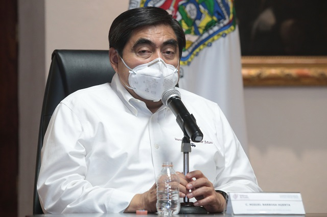 Descarta Barbosa a Eduardo Rivera de candidato en Morena