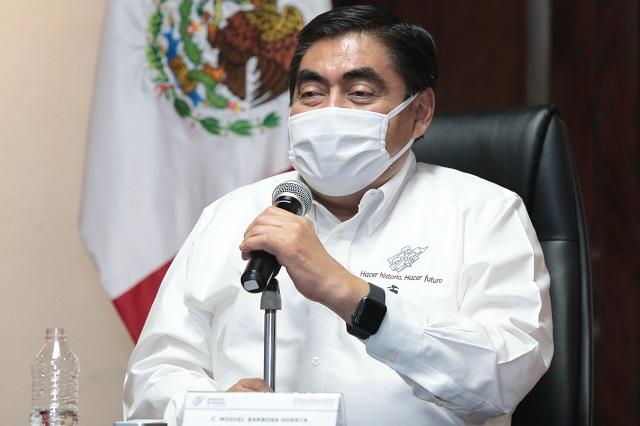 Pide Barbosa no usar contingencia sanitaria para sacar raja política