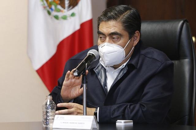 Detenciones en Tehuacán, por malos manejos, dice Barbosa