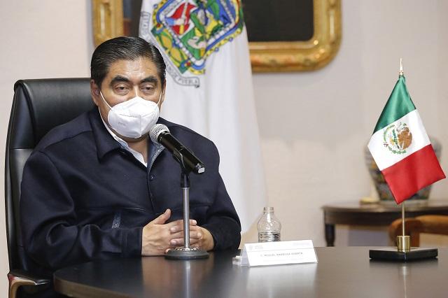 No voy a discutir con AMLO el bajo presupuesto a Puebla: Barbosa