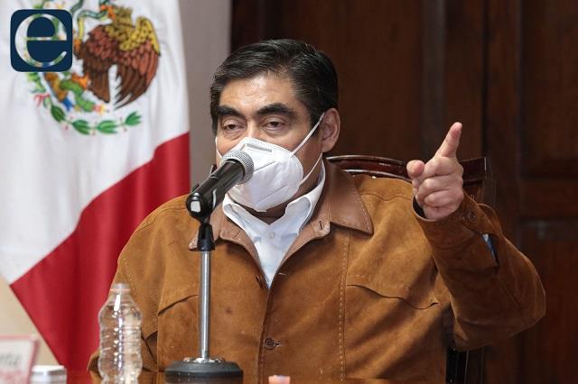 Por miedo, gente se suma a mítines de El Toñín: Barbosa