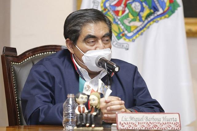 Gracias a su austeridad, Puebla no tiene deuda ni la busca: Barbosa