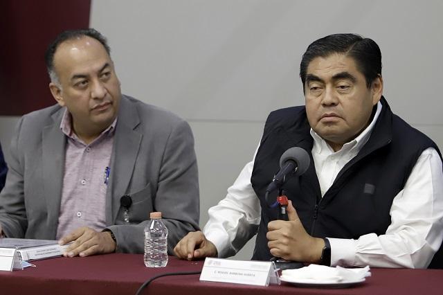 Niega Barbosa plan para tomar por la fuerza seguridad en Puebla