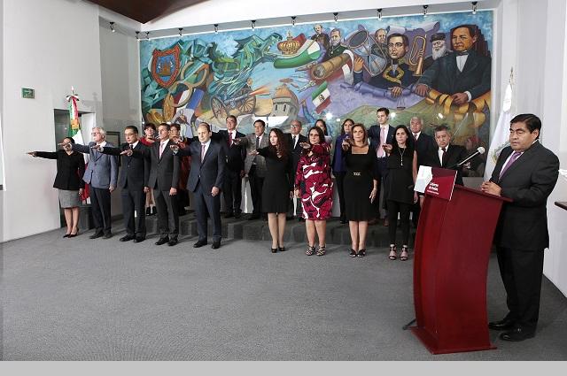 Ejecuta Barbosa sexto cambio en su gabinete en 10 meses