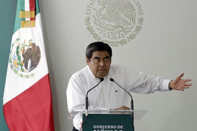 Reconoce Barbosa siembra de droga en la Mixteca