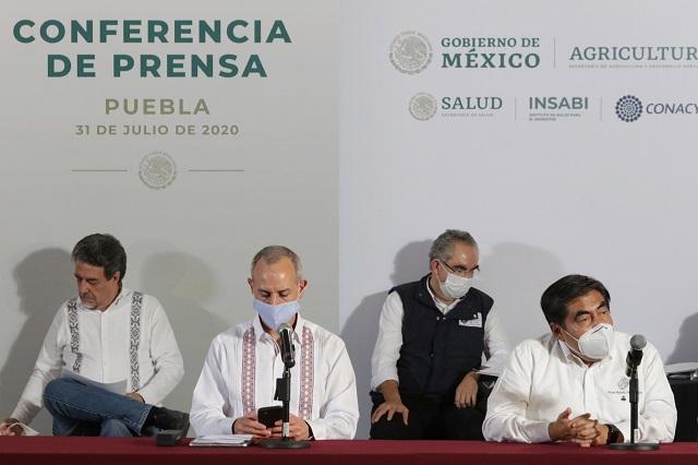 Semáforo de Covid sigue en rojo para Puebla, acuerdan gobiernos