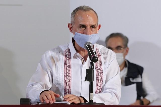 Promueve López Gatell plan de atención por Covid en Cuetzalan