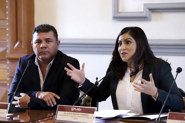 Cambia Claudia Rivera a titulares de DIF y Desarrollo Económico