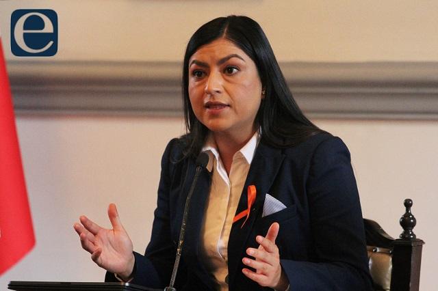 Claudia Rivera impugna en TEPJF sanción por promoción personal