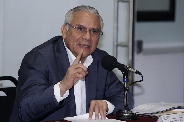 Titular de la Seguridad en Puebla da positivo a Covid-19