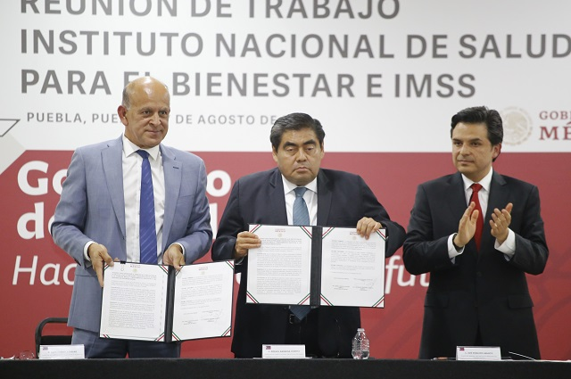 IMSS inyecta 7 mil mdp para San Alejandro, Amozoc y Cholula
